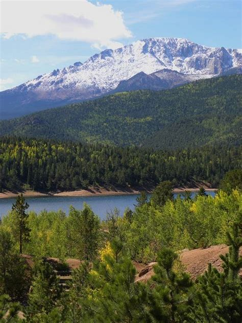 pikes peak colorado springs colorado the co