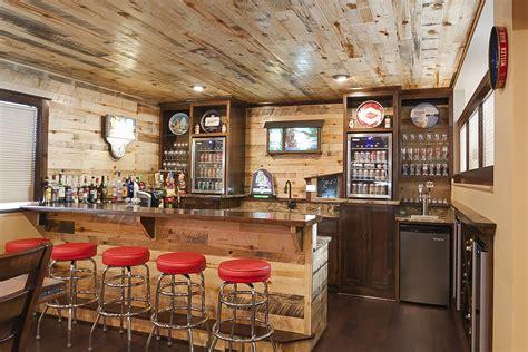 Installing A Bar In Basement by Andover Minnesota Basement Bar Franklin Builders
