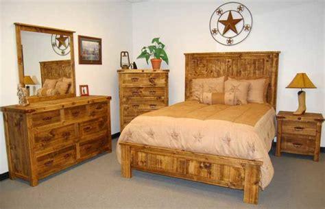 natural finish reclaimed wood rustic bedroom set million