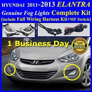 Details About New Oem Fog Light Lamp Complete Kit Wiring Harness For Hyundai Accent 2012