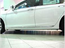 20132017 Honda Accord 4dr Chrome Lower Door Garnish