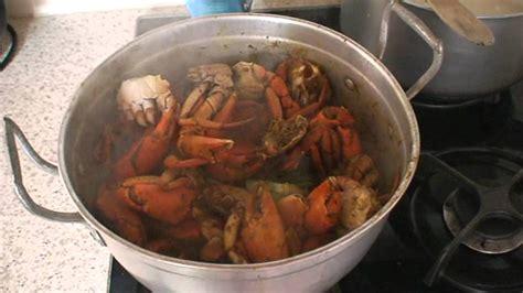 recette de cuisine recette de cuisine matoutou de crabes de martinique
