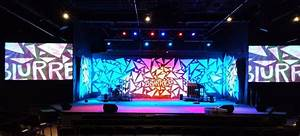 Buried Church Stage Design Ideas