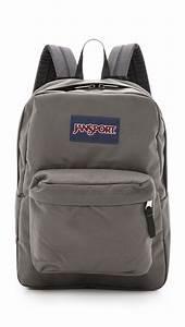Lyst - Jansport Superbreak Backpack in Gray for Men  Jansport