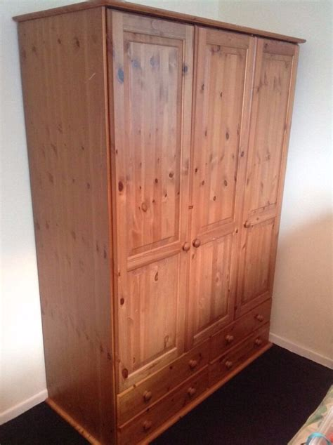 Large Wardrobe With Drawers by Cheaper 40 00 Solid Wood Pine Large Wardrobe With