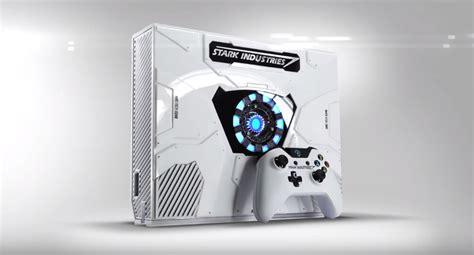 special edition iron man xbox  console  arc reactor