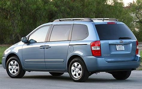 2008 Kia Sedona Ground Clearance Specs
