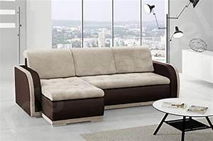 Couch L Form Mit Schlaffunktion : schlafsofa laura couch mit bettkasten und schlaffunktion freistehendes schlafcouch ~ Bigdaddyawards.com Haus und Dekorationen