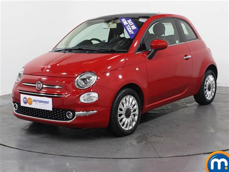 Fiat 500 Used Cars For Sale by Used Fiat 500 Automatic Cars For Sale Motorpoint
