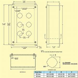 Boxes For Mounting 22mm  U0026 30 Mm Switches