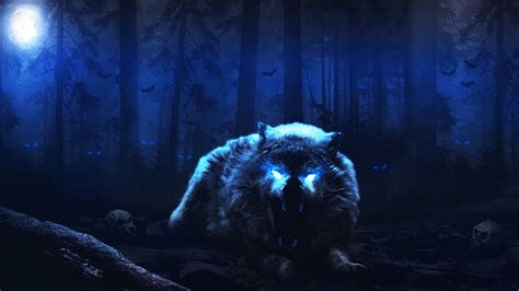 Scary Wolf Wallpapers