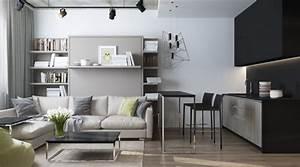 Kleines Zimmer Für 2 Einrichten : kleine wohnung einrichten 6 clevere wohnideen f r 30 qm ~ Bigdaddyawards.com Haus und Dekorationen