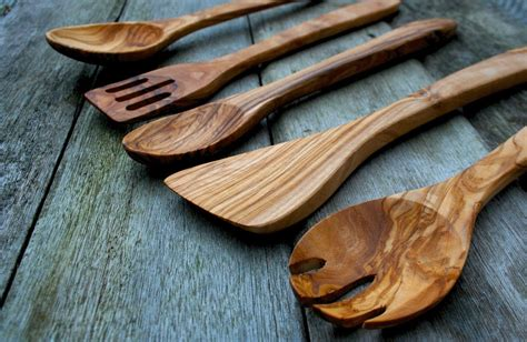Affordable Olive Wood Kitchen Accessories