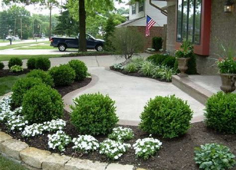simple home landscaping ideas simple front yard landscaping ideas home interior exterior