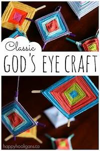 colourful god 39 s eye craft weaving for happy hooligans