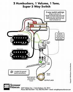 Les Paul Wiring Diagram 5 Wire