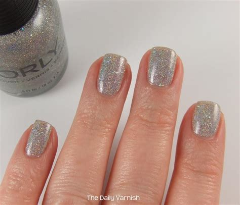 orly mirrorball nail polish daily varnish