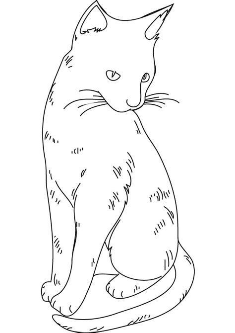 dibujos de gatitos simpaticos  colorear colorear