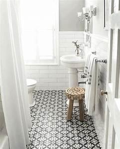 Carreaux Adhesif Salle De Bain : des carreaux de ciment dans la d co de la salle de bain shake my blog ~ Melissatoandfro.com Idées de Décoration