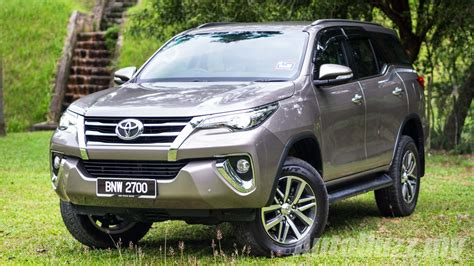 Review Toyota Fortuner by Review 2016 Toyota Fortuner 2 7 Srz There But Not Quite