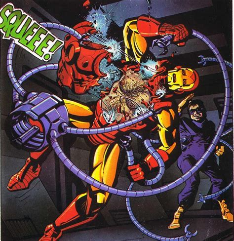 Image Doc Ock Vs Iron Man Spider Man Wiki