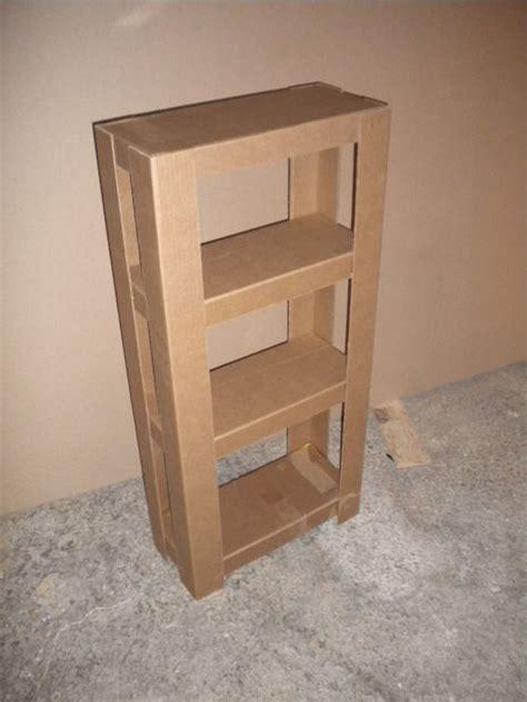 Easy Cardboard Shelves 3 Steps