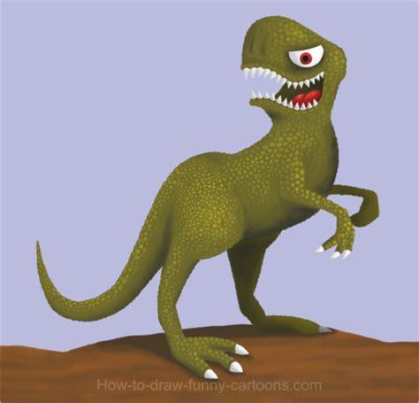 dinosaur drawing cartoon painting