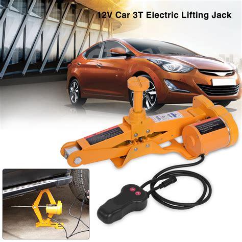 3 Ton 12v Automotive Electric Scissor Car Jack Lifting