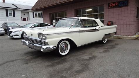 Ma Ford 1959 ford galaxie 500 in west springfield ma pats auto