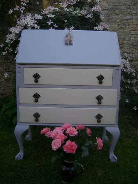 bureau style vintage style writing bureau painted in autentico vintage