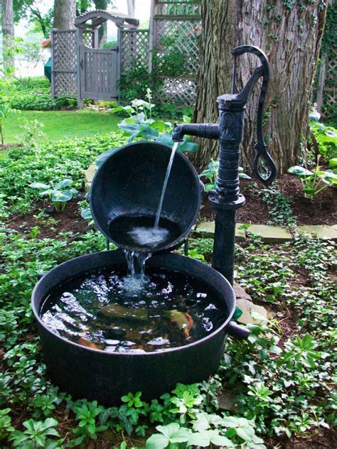 garden water features 10 refreshing container water features hgtv