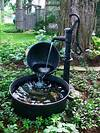 10 Refreshing Container Water Features | HGTV outdoor water fountain garden pond