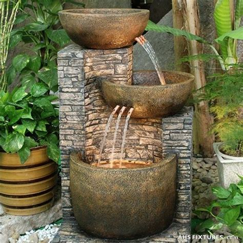 garden features free shipping and no sales tax on all large outdoor water fountains from prohomestores com http