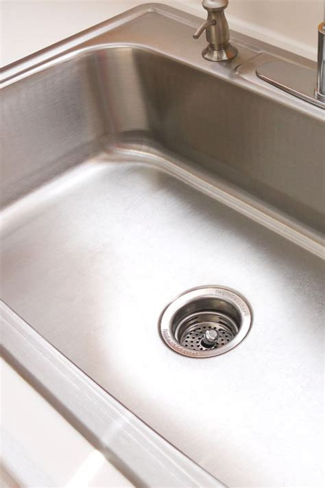 how to make your kitchen sink shine make it shine how to clean your stainless steel sink 9490