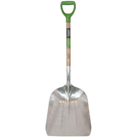 home depot garden tools ames 24 5 in d handle aluminum scoop 2672100 the home depot