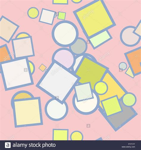 Shapes Background Seamless Geometric Pattern Design For Background