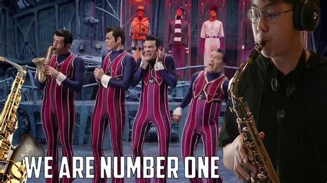 We Are Number One But On A Saxophone