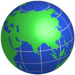 World Earth Globe