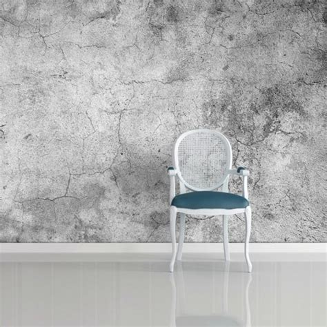 papier peint trompe loeil pour une deco de style industriel