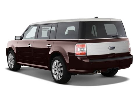 2018 Ford Flex 4 Door Limited Fwd Angular Rear Exterior View