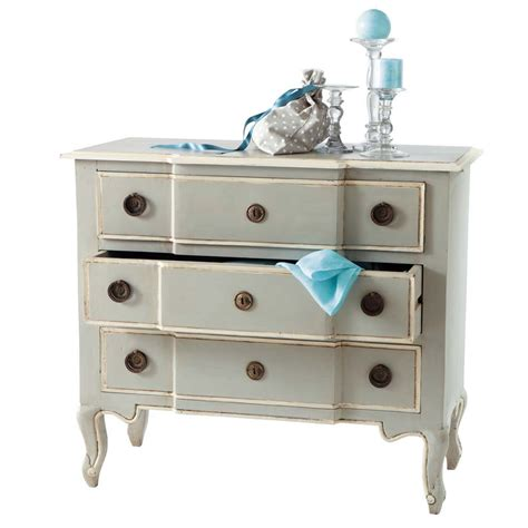 commode en manguier grise l 98 cm beaumanoir maisons du monde