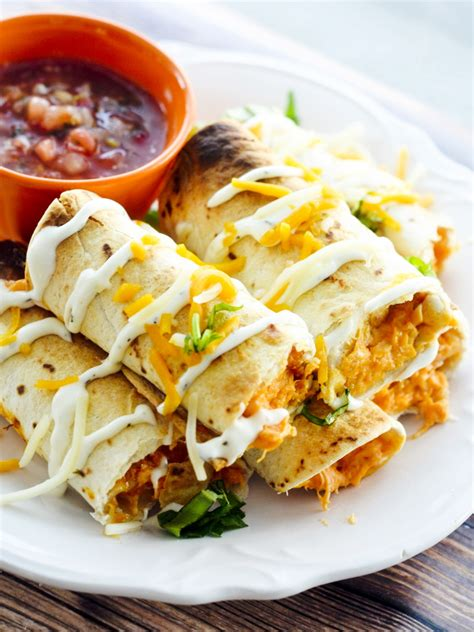 cuisine to go baked buffalo chicken taquitos best fast healthy