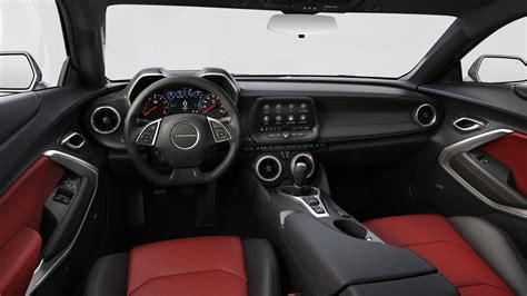 chevrolet camaro interior colors gm authority