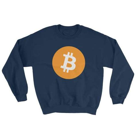 Buy bitcoin in uk using gbp or in person. Bitcoin Logo Unisex Sweatshirt   Kings of Crypto   Crypto Clothing Store