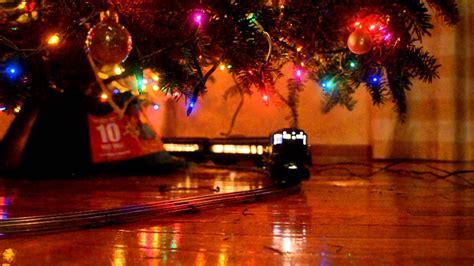 lionel train   christmas tree youtube