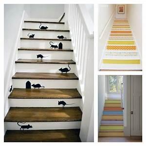 Renovation Marche Escalier : d co escalier des id es pour personnaliser votre escalier ~ Premium-room.com Idées de Décoration
