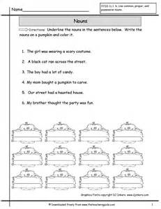 The Worksheet Nouns Worksheets From The 39 S Guide