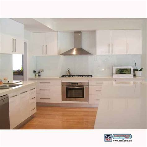 Timber Cupboards by Sydney Kitchen White Doors Caesarstone Top With Timber