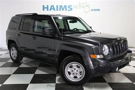 2017 jeep patriot 2017 used jeep patriot sport fwd at haims motors serving
