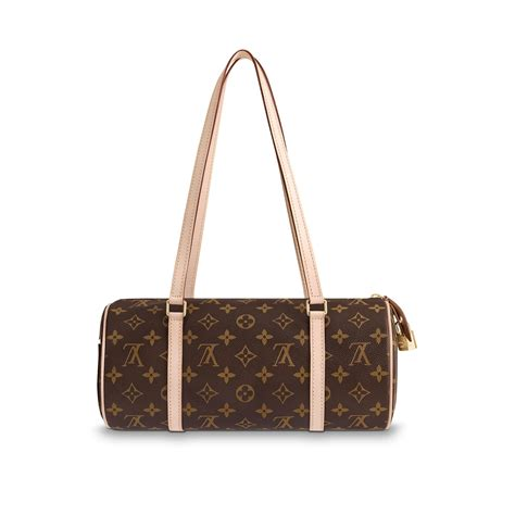 papillon nm monogram canvas handbags louis vuitton